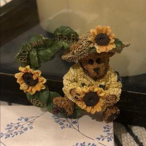 Boyds Bear Pin 1999 Bloomin F.O.B.Sunflower